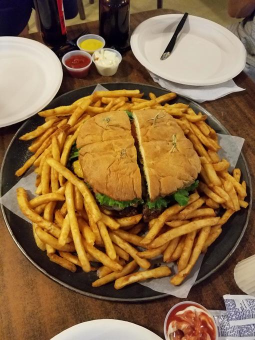 Rio Loco Grill Awesome Burger