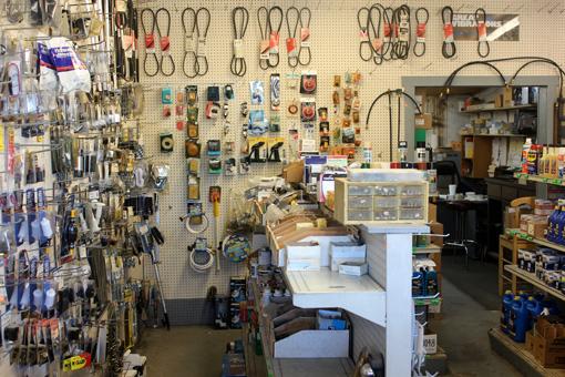 Inside Fisher's Landing Boat Shop