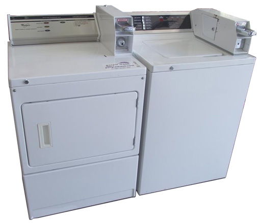 Coin Operated Laundry Machines