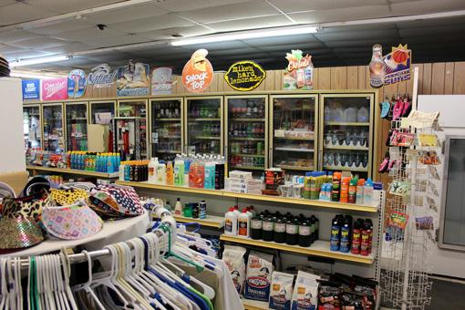 Inside Fisher's Landing General Store